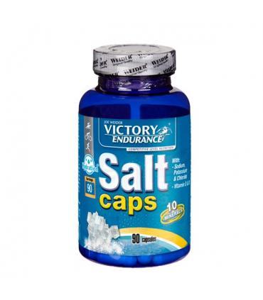 Victory Endurance Salt Caps Electrolitos y minerales para mejor rendimiento deportivo e hidratación 90 cápsulas
