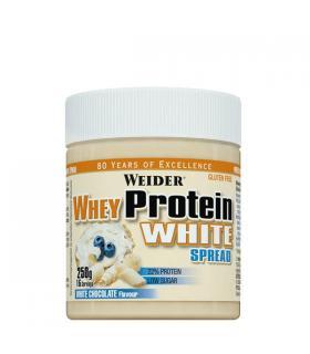 Weider Whey Protein White Spread Crema para untar con proteína de suero de leche sabor Chocolate Blanco 250g
