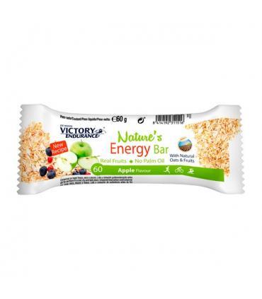 Victory Endurance Nature's Energy Bar Barrita energética con avena y fruta sabor Manzana 60 gramos