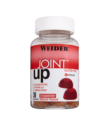 Weider Gominola Joint UP Colágeno + Vitamina C + Cúrcuma + Coenzima Q10 sin azúcar 36 unidades