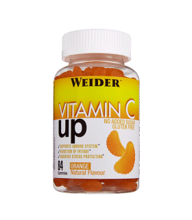 Weider Gominola Vitamina C UP Refuerzo de vitamina C  84 unidades