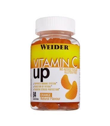 Weider Gominola Vitamina C UP Refuerzo de vitamina C  84 unidades