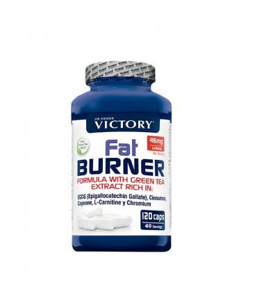 Victory Fat Burner Quemador de grasa con Té Verde + L-Carnitina + Cromo 120 cápsulas
