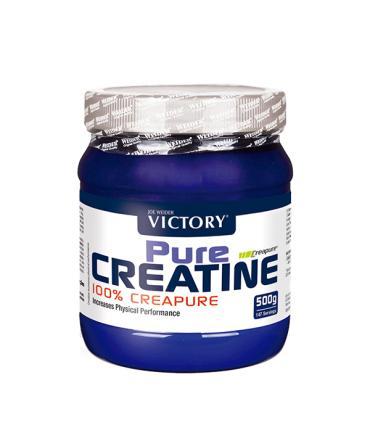 Victory Pure Creatine Creatina 100% Creapure en polvo 500 gramos