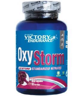Victory Endurance Oxystorm con nitrato vasodilatador más oxígeno muscular 90 cápsulas