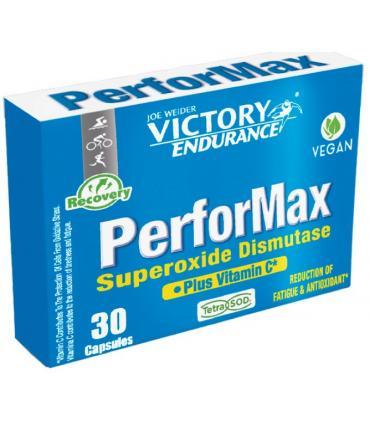 Victory Endurance PerforMax con Tetrasod y Vitamina C reduce la fatiga y es antioxidante 30 cápsulas