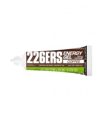 226ERS Energy Gel Bio Geles energéticos de 25 gramos con 50mg de cafeína