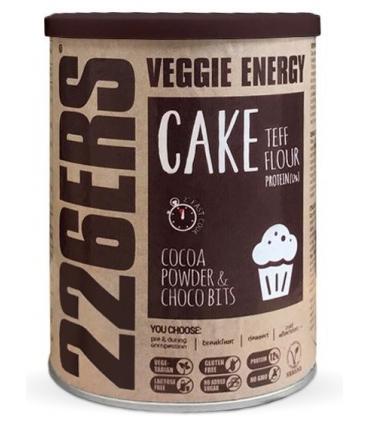226ERS Veggie Energy Cake Pastel energético sabor chocolate 480 gramos