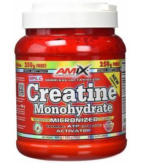 Amix Creatina Monohidrato fuente de energía 500gr + 250gr gratis