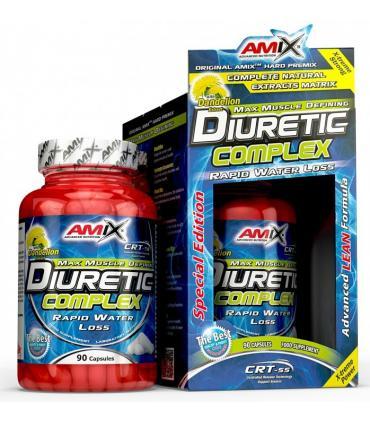 Amix Diuretic Complex Diurético que elimina el líquido y la grasa 90 cápsulas