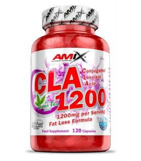 Amix CLA 1200 Quema grasas natural control de peso 120 cápsulas