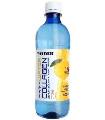 Weider Water Collagen Agua con colágeno Peptiplus sin gas 500ml sabor Limón