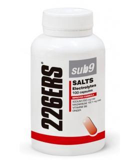 226ERS Sub9 Salts Electrolytes con Jengibre, Vitaminas y Minerales bote 100 cápsulas