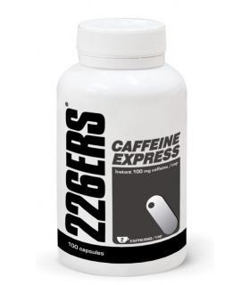 226ERS Caffeine Express Cafeína que aumenta la energía y reduce la fatiga y el cansancio 100 cápsulas