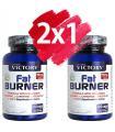 Pack oferta 2x1 Victory Fat Burner Quemador de grasa con Té Verde + L-Carnitina + Cromo 2x120 cápsulas