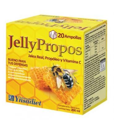 Jelly Propos de Ysandiet con Jalea Real Fresca, Propóleo y Vitamina C en 20 ampollas