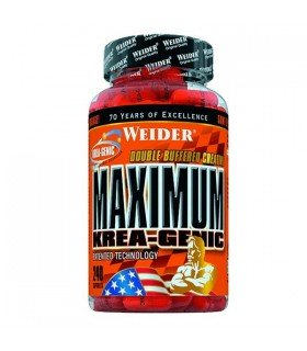 Weider Maximum Krea-Genic Creatina para la recuperación muscular 240 cápsulas