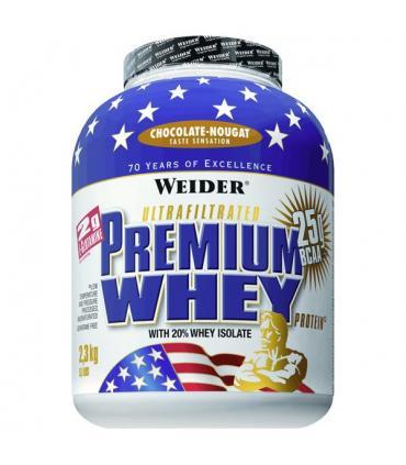 Weider Premium Whey Proteína de suero premium sabor Chocolate 2.3Kg