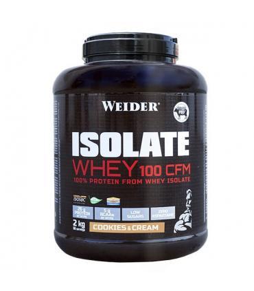 Weider Isolate Whey 100 CFM Proteína de suero de leche premium 2Kg
