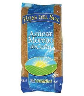 Azúcar moreno de caña sin refinar integral 1Kg Hijas del Sol