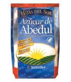 Azúcar de abedul apto para diabéticos sin azúcar con Xilitol Natural Hijas del Sol 500g