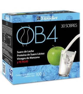 OB4 Para adelgazar, reduce las ganas y el ansia de comer en 30 sobres