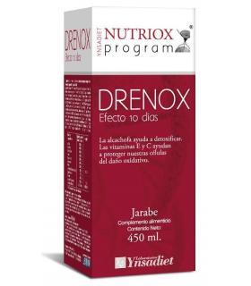 Nutriox Drenox Quema grasas, detoxificación + circulación Jarabe 450ml