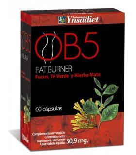 OB5 Fat burner control de peso con Fucus y hierba mate 60 cápsulas