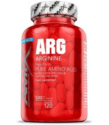 Amix ARG Arginine Arginina Aminoácido esencial en 120 cápsulas