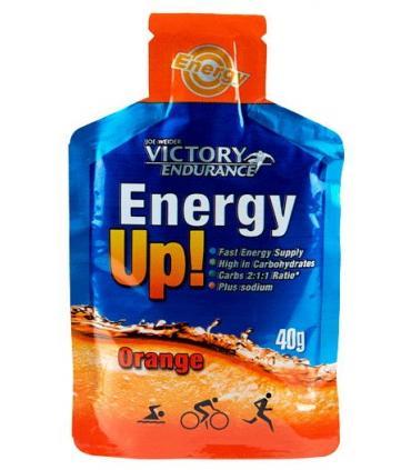 Gel Victory Endurance Energy UP Naranja sin cafeína