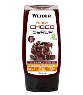 Sirope de Chocolate zero sin azúcar Slim Choco Syrup de Weider 350gr