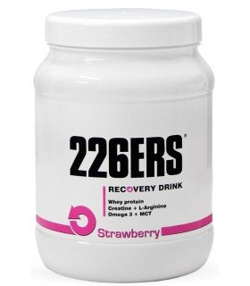 Recovery Drink 226ers bote medio kilo sabor fresa strawberry
