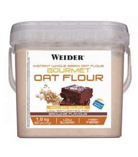 Weider Gourmet Oat Flour Carbohidratos de harina de avena integral 1.9Kg