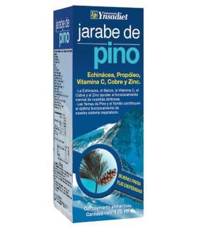Jarabe de pino con Echinácea, Propóleo, Vitamina C, Cobre y Zinc de Ynsadiet 125ml