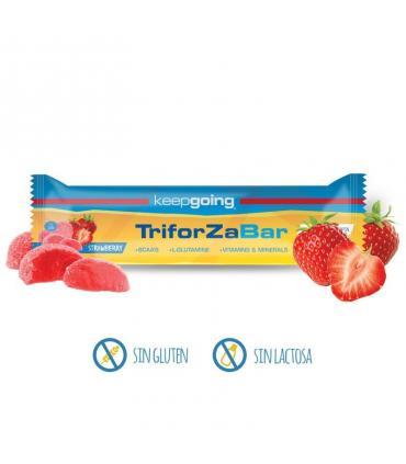 Keepgoing Barrita energética Triforza Energy Bar 40 gramos