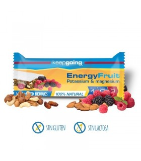 Keepgoing Barrita energética Energy Fruit 40 gramos