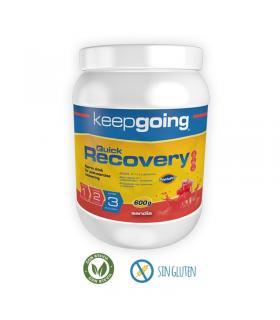 Keepgoing Quick Recovery recuperador post ejercicio 600 gramos