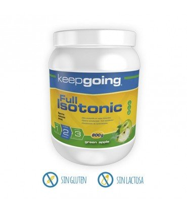 Keepgoing Bebida isotónica en polvo Full Isotonic en 800 gramos