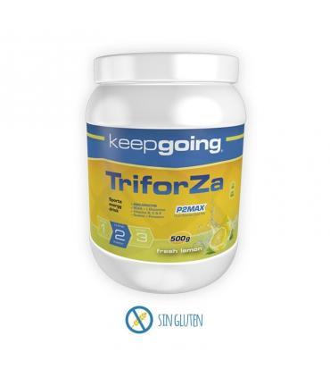 Keepgoing Triforza Energy bebida energética en polvo 500 gramos