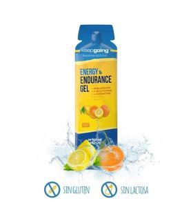 Keepgoing gel energético Energy & Endurance sabor Naranja y Limón 32 gramos