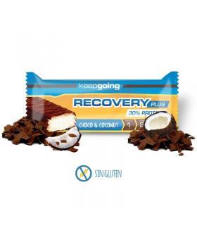 Keepgoing barrita de proteínas proteica recovery plus sabor chocolate y coco 40gr