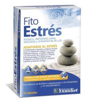 Fito Estrés de Ynsadiet suplemento para combatir el estrés en 30 cápsulas