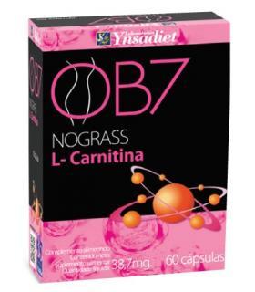 L-Carnitina en 60 cápsulas para eliminar grasa y perder peso OB7 de Ynsadiet