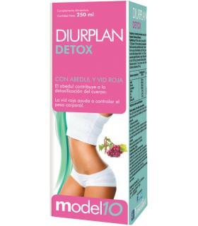 Diurplan Detox para detoxificar y controlar el peso corporal en jarabe 250ml
