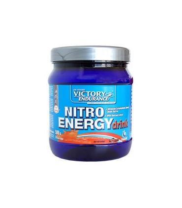 Victory Endurance Nitro Energy Drink bebida isotónica + energía sabor Naranja Sanguina 500 gramos