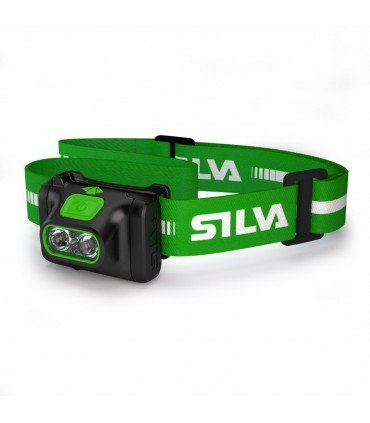 Silva Scout X Linterna frontal deportiva senderismo 270 lumens 55 metros