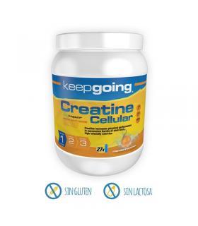 Creatina monohidrato Keepgoing 100% Creapure con carbohidratos y BCAAs 800 gramos en polvo