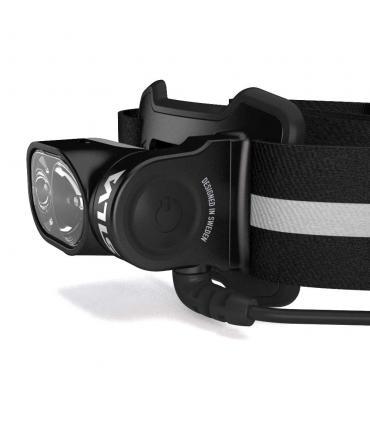 Linterna para la cabeza con botón de encendido grande Silva Cross Trail 5 Ultra