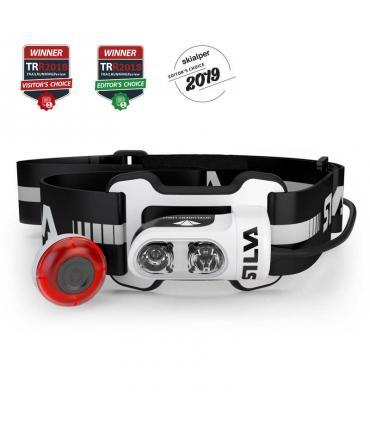 Silva Trail Runner 4 Ultra luz linterna frontal USB batería litio 350 lumens 75 metros
