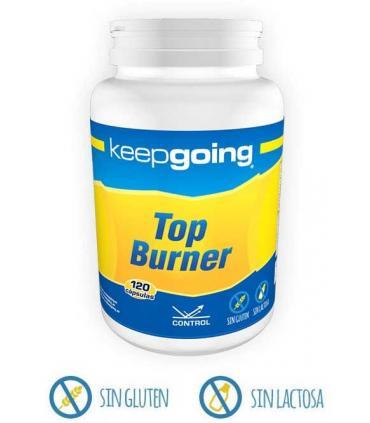 Keepgoing Top Burner el mejor quemagrasas natural 120 cápsulas